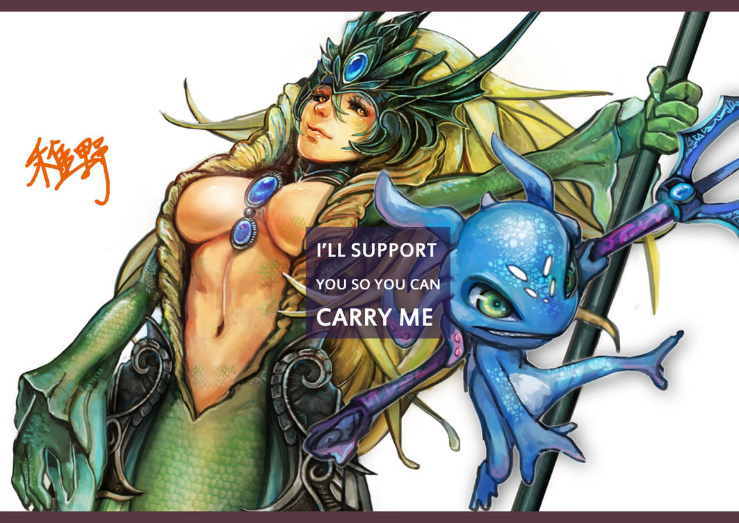 I'll support you so you can carry me by NIELSPETERDEJONG