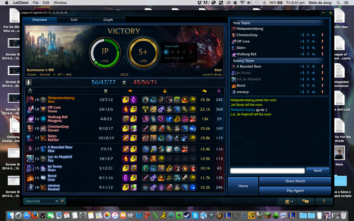 S+ on Sion top against a Gnar :D by NIELSPETERDEJONG
