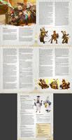 Vespidan, the Wasp/Fey player race