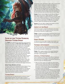 Dragon Totem Warrior