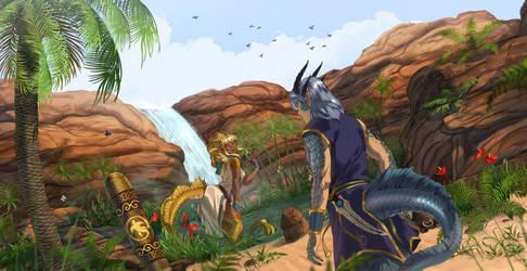 Half Dragon Oasis