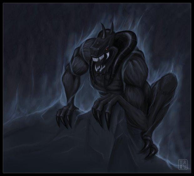 Black Monster By Pierrefihue