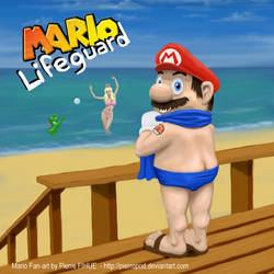 Mario Lifeguard by PierreFihue