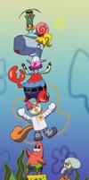 SpongeBob Stack by chesney
