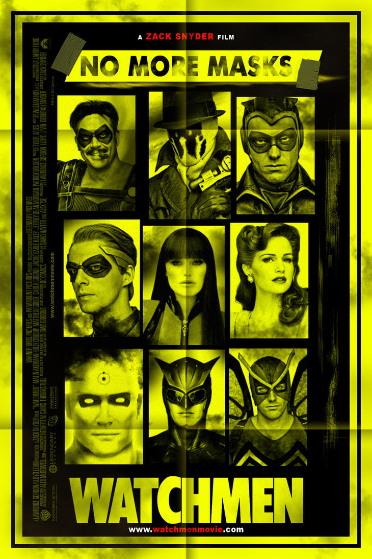 Watchmen No More Mask ...