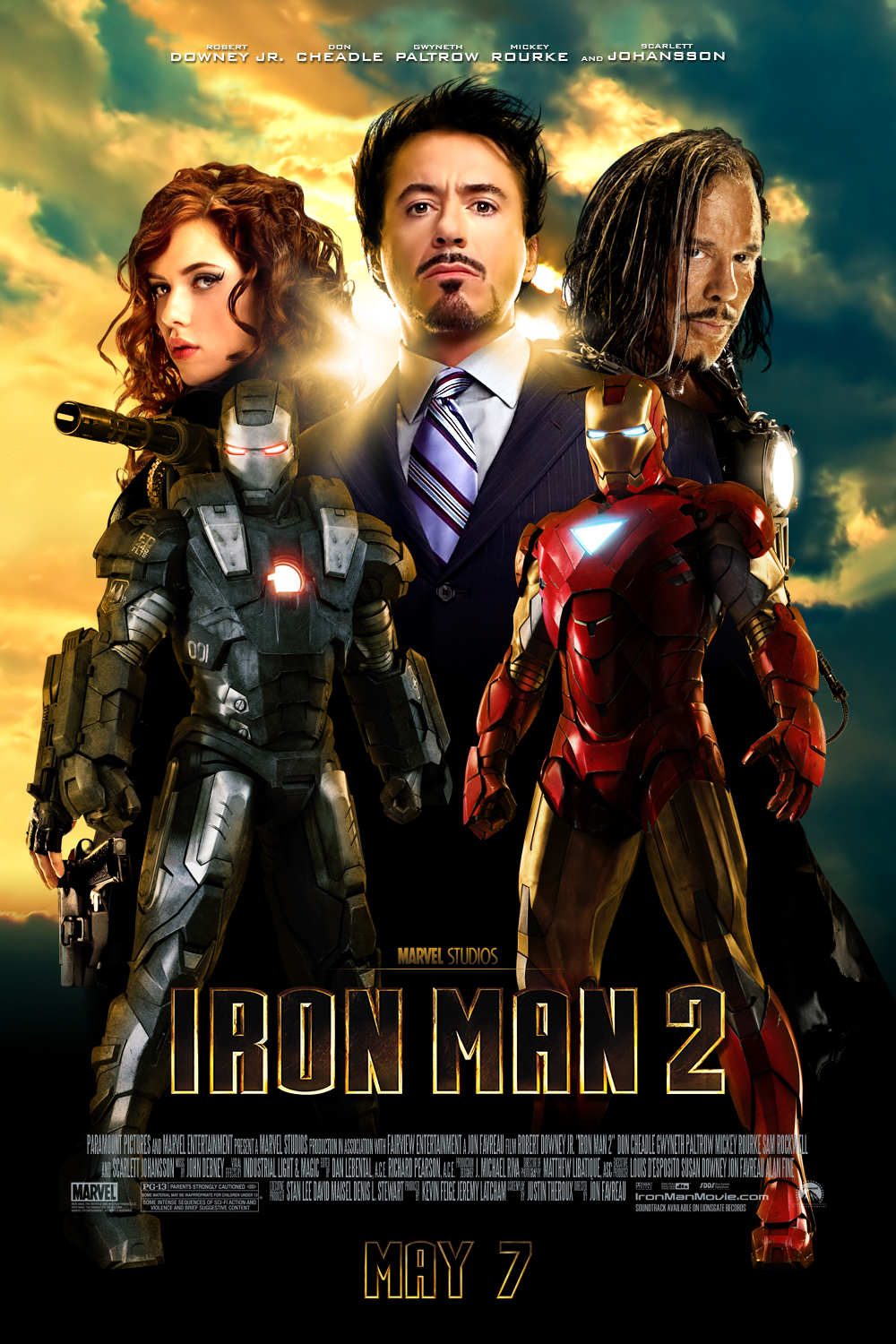 Iron Man 2 Theatrical Poster By J K K S On Deviantart