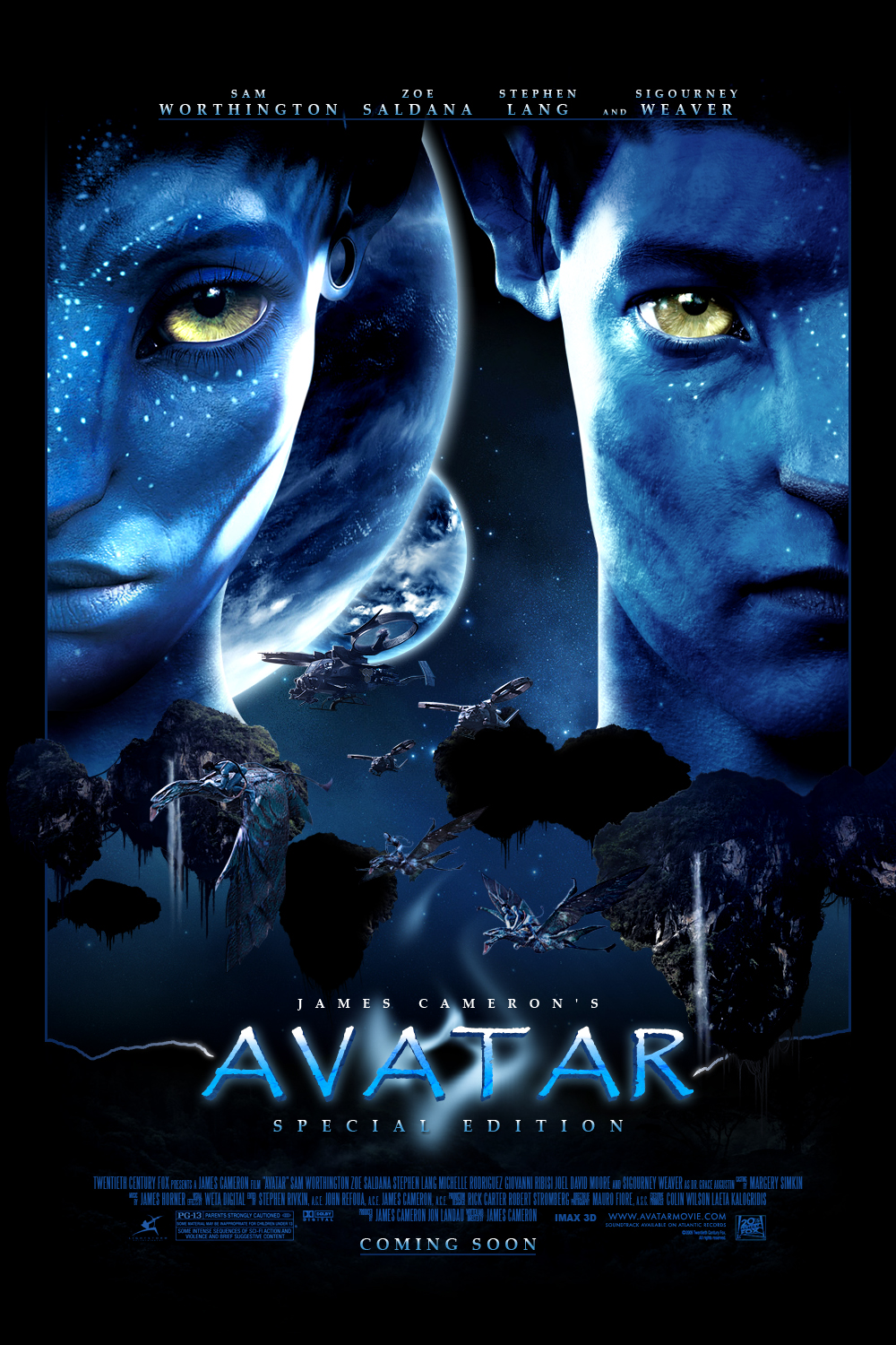 Avatar Special Edition Poster by J-K-K-S