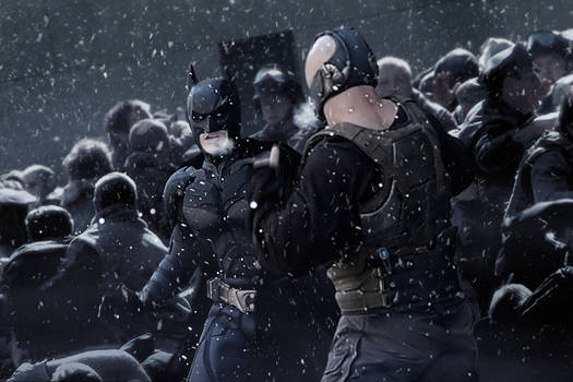 The Dark Knight Rises Artwork