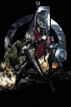 Avengers Age Of Ultron Artwork
