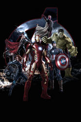 Marvel's Avengers Age Of Ultron Artwork V2.0