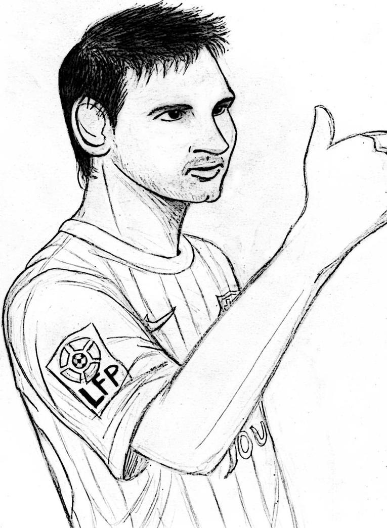 Worksheet. Lionel Messi by Loui3 on DeviantArt