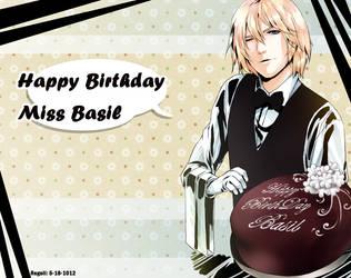 Happy Birthday Basil by Regoli