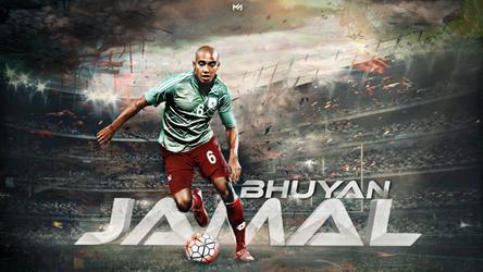 Jamal Bhuyan | Captain of Bangladesh Football by MAHMUDGFX