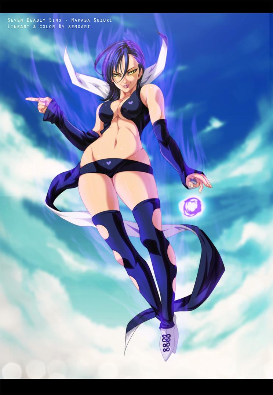 Merlin  - Nanatsu no Taizai by semoArt