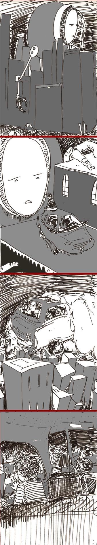 Robot Car Strip by buusan