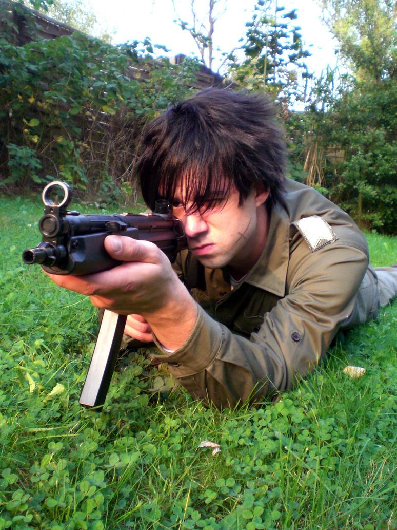 sousuke shooting 1 by KugelKatzenFisch