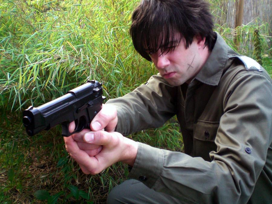 sousuke shooting 3 by KugelKatzenFisch