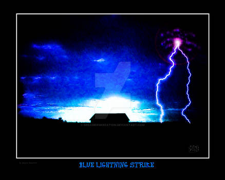 Blue Lightning Strike