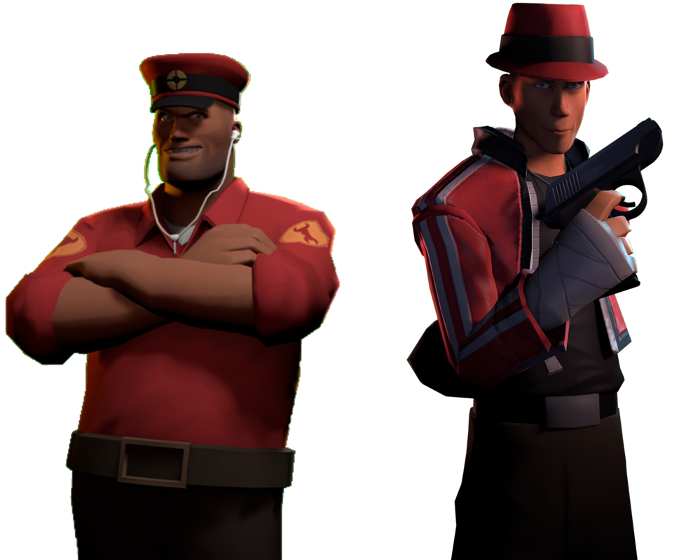 Dan the Man and Lorcan the Scout by DANIOTHEMAN