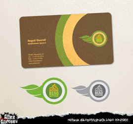 Logog and busines-card 2 by Allehandro