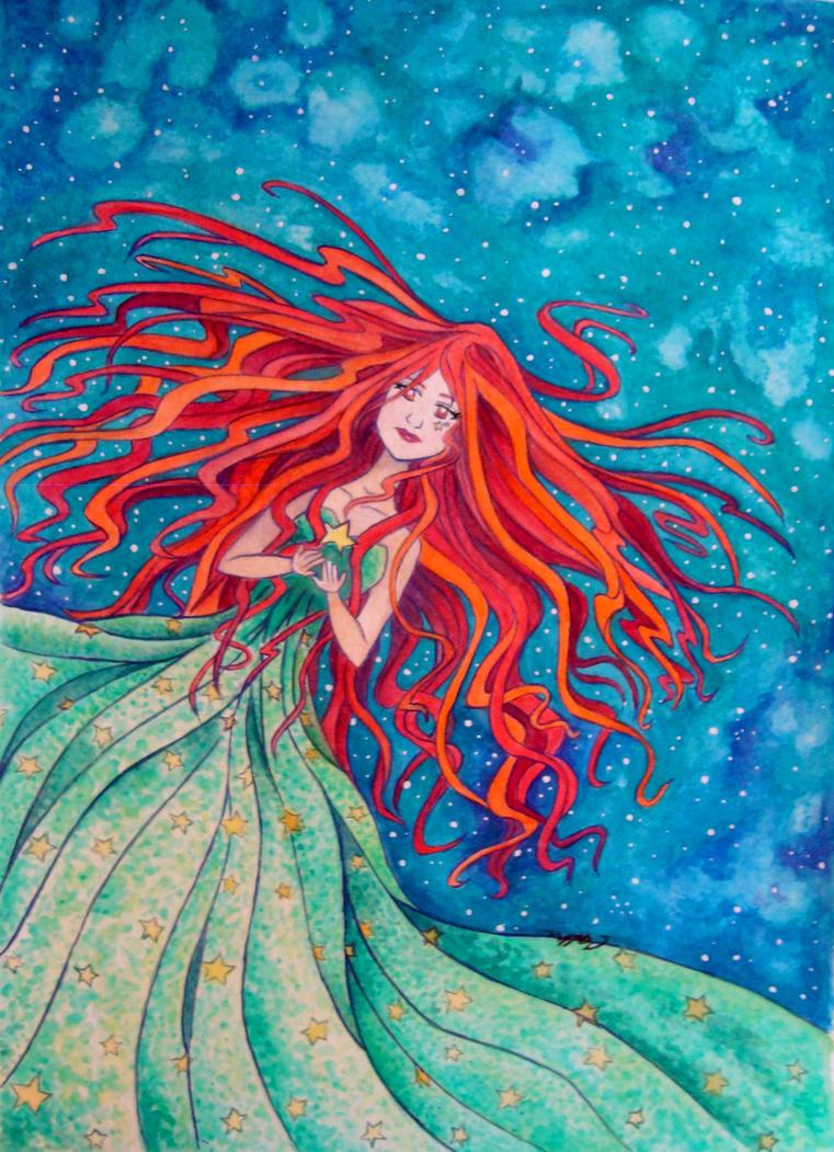 Star Girl by MarquisduSoliel