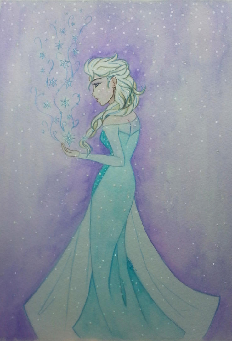 Elsa by MarquisduSoliel