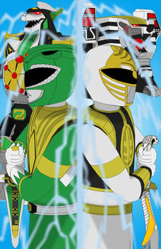 The Green and White Power Ranger