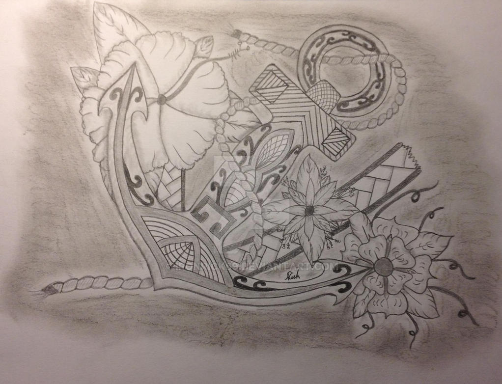 Polynesian Anchor by Ironrick69