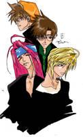 Saiyuki Boys by aratithiliel