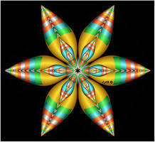 Sierpinski Flower III