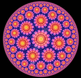 Colorful Poincare Disc