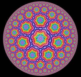 Multicolor Poincare Disc III