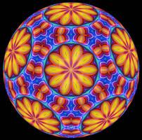 Festive Beltrami-Klein Disc