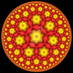 Yellow and Red Disc