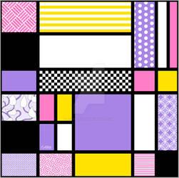 Mondrian Inspired Tile II