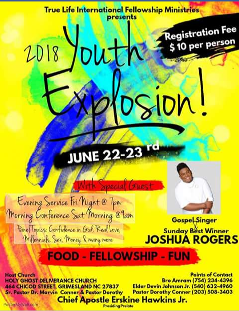 Youth explosion 2018 by EmanuelJones