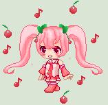 Cherry Miku by Starry-Pie