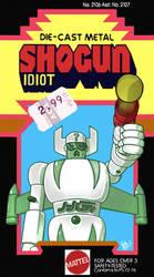 Shogun Idiot by retrorobotboy
