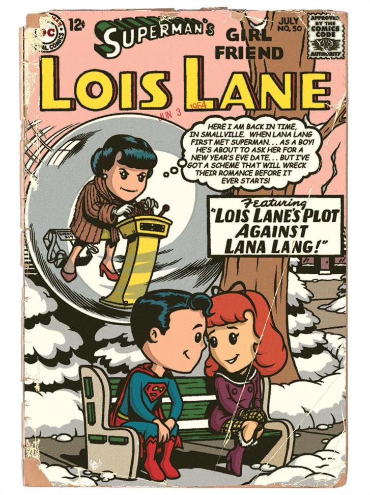 Lois Lane #50 by retrorobotboy