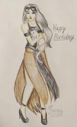 Happy Birthday Mew! by AJtheHuntress