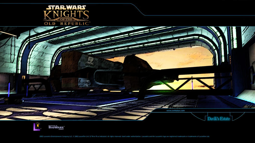 KOTOR Walpapers Davik's Estate Remastered by H0wlrunn3r on
