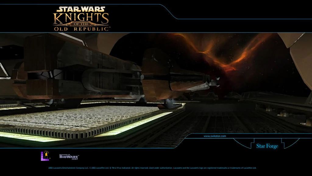 KOTOR Walpapers Star Forge Remastered by H0wlrunn3r on