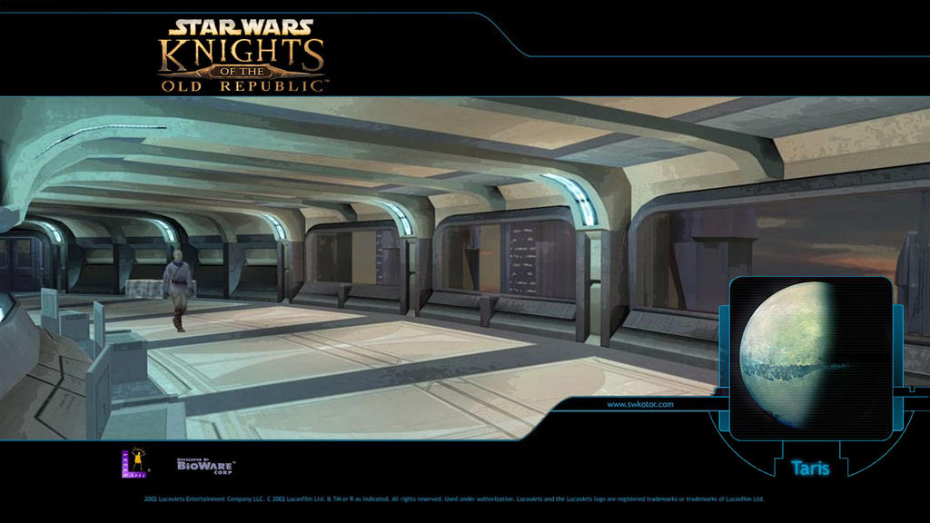 KOTOR Walpapers Taris Appartments Remastered by H0wlrunn3r