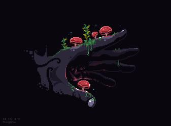 Mushroom Hand by Raiyumi