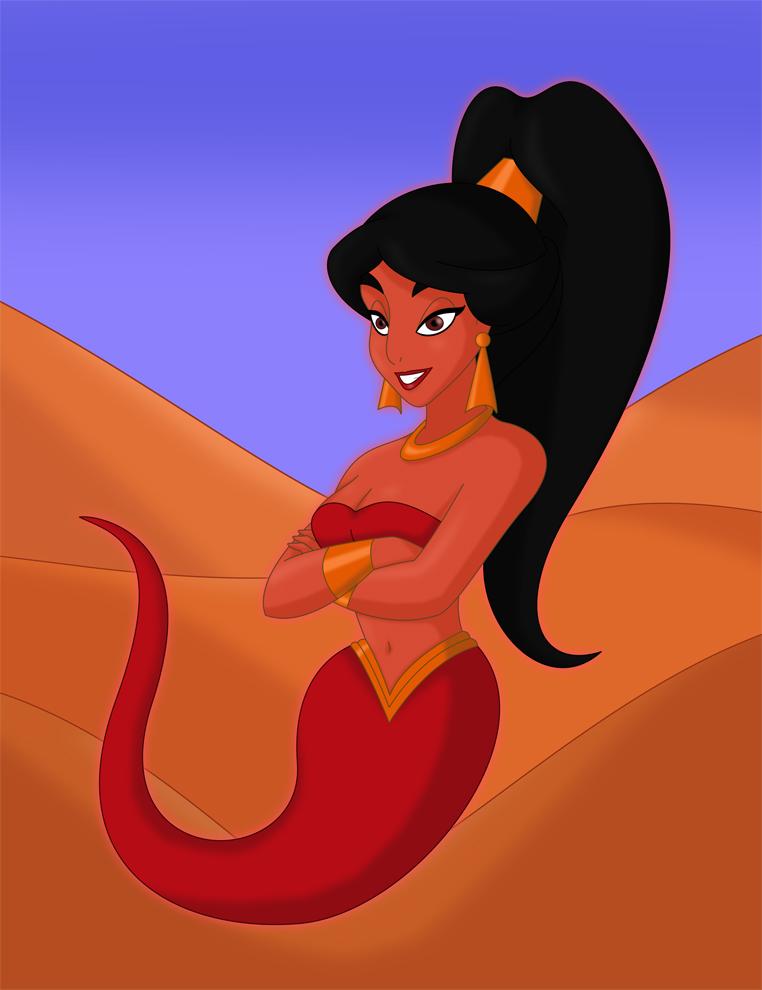 Halloween: Genie Jasmine by JaviDLuffy