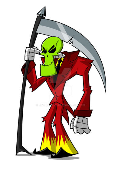 Masked Grim by JaviDLuffy