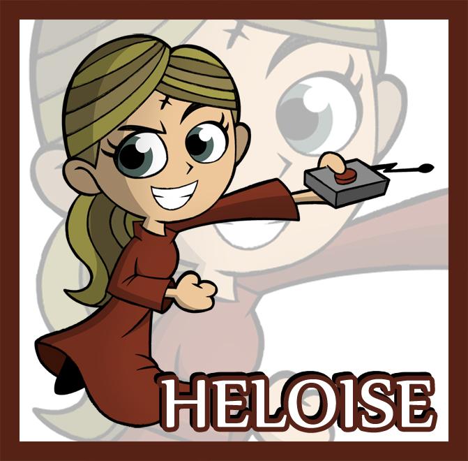 Chibi Heloise by JaviDLuffy