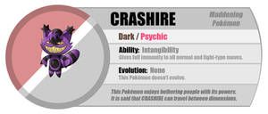 Fakemon: Crashire