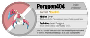 Fakemon: Porygon404