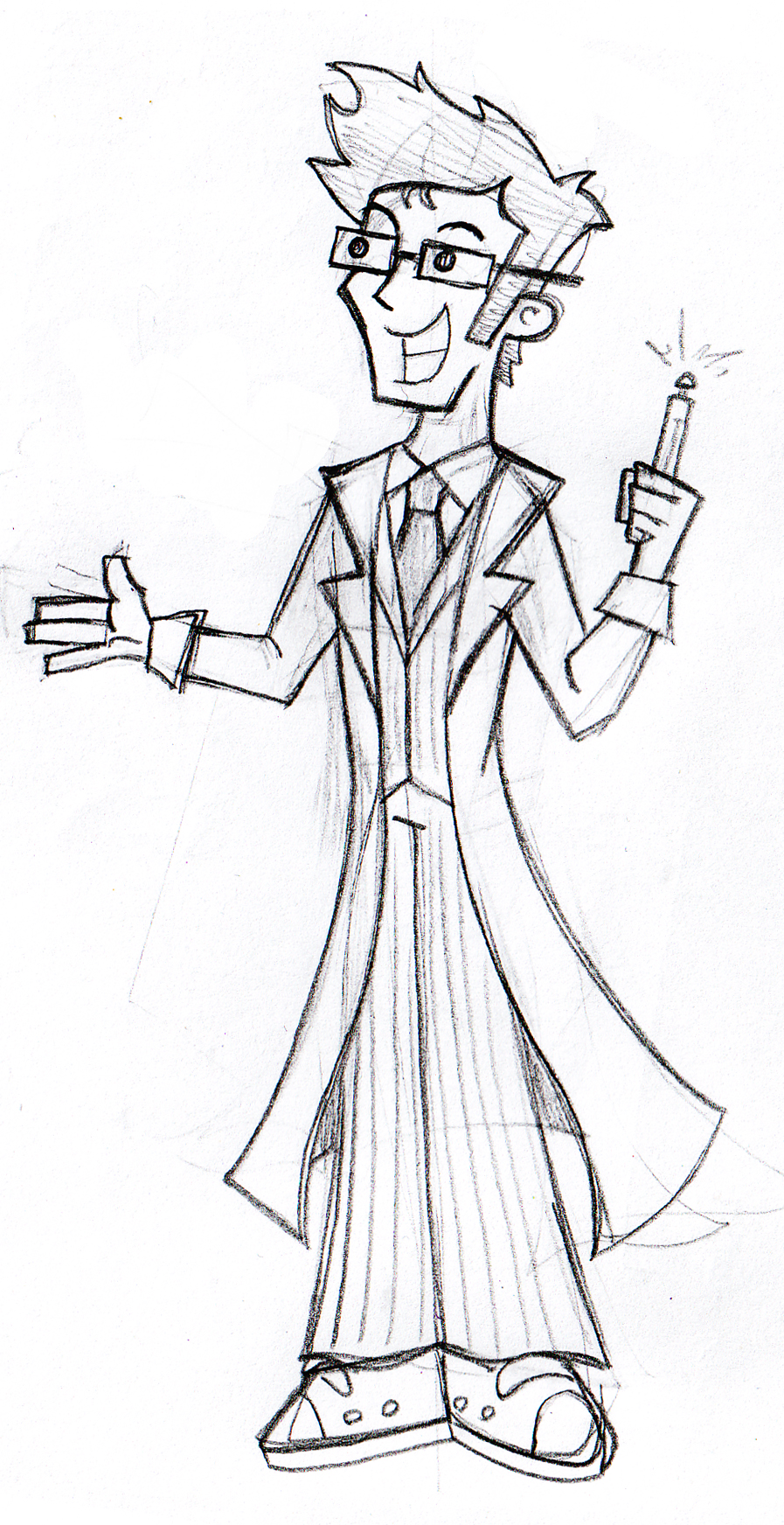 SkeCom: 10th Doctor by JaviDLuffy